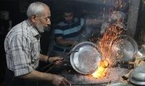 Ramazanda 90 derecelik ateşin başında zorlu mesai