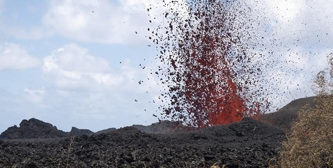 Hawaii Kilauea yanardağı 20 gündür alev püskürtüyor