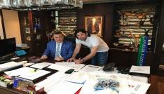 ÇAYKUR Rizespor teknik direktörleri İbrahim Üzülmez ile nikah tazeledi