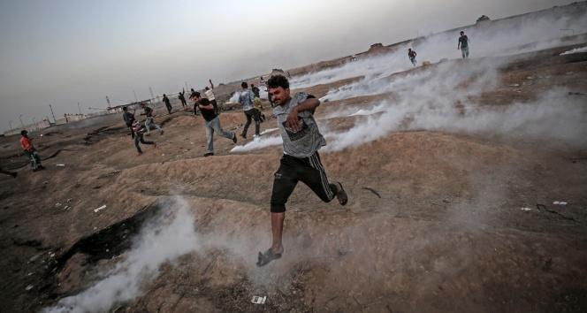 İsrail askeri 9 Filistinli'yi yaraladı
