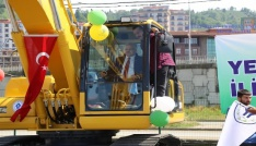 Rize Belediyesinden Makine Parkına iki yeni araç daha