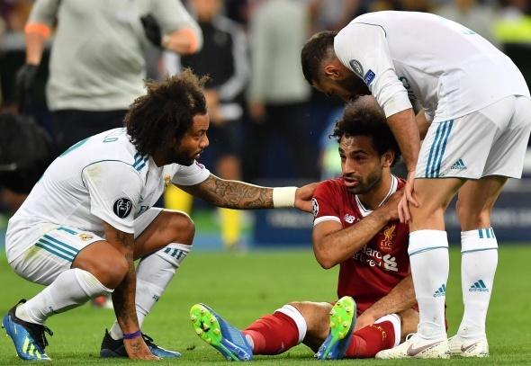 Real Madrid Liverpool Maçından Kareler