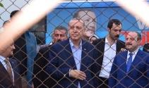 Cumhurbaşkanı Erdoğana Balıkesirde sevgi seli
