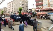 Gazi Mahallesinde pazarcıların kavgası kanlı bitti