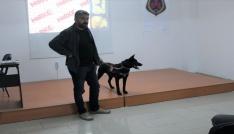Narkotik köpeği Zeytinli uyuşturucu eğitimi...