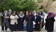 Gümüşhanede kadınların yol isyanı
