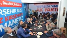 Cumhuriyet Halk Partisi İl Teşkilatı , Ak Parti Seçim Bürosunu ziyaret etti