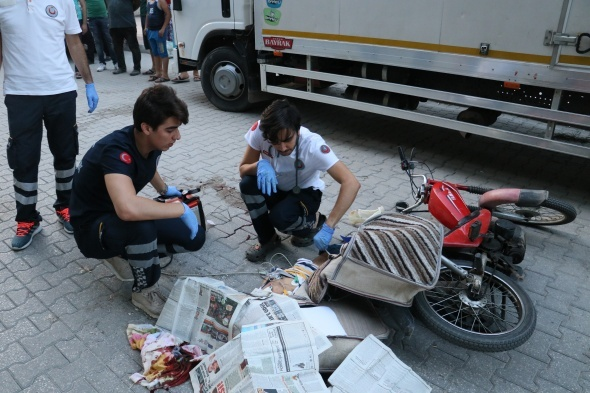 Adana'da feci olay! Dehşet içinde izlediler...