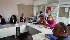 İş Sağlığı ve Güvenliği değerlendirme toplantısı düzenlendi