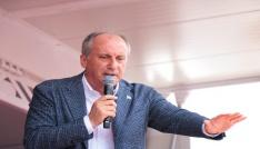 CHPnin cumhurbaşkanı adayı İnce: Gönül Dağının yanına gönül bağı kurmak için geldim