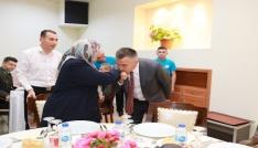 Şehit ve gazi yakınları iftar yemeğinde bir araya geldi
