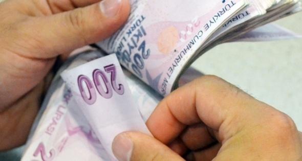 Maaşlar 574 lira arttı
