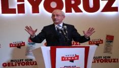CHP Genel Başkanı Kılıçdaroğlu: Çiftçinin faiz borçlarını sileceğiz