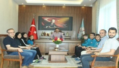 İl Milli Eğitim Müdürü Murat Aşım, okul dergisi yazarlarını ağırladı