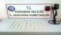 Karamanda tarihi eser operasyonu