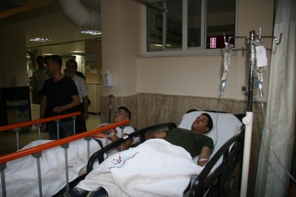 62 asker gıda zehirlenmesi şüphesiyle tedavi altına alındı