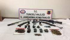 Tuncelide terör örgütü PKKya ağır darbe