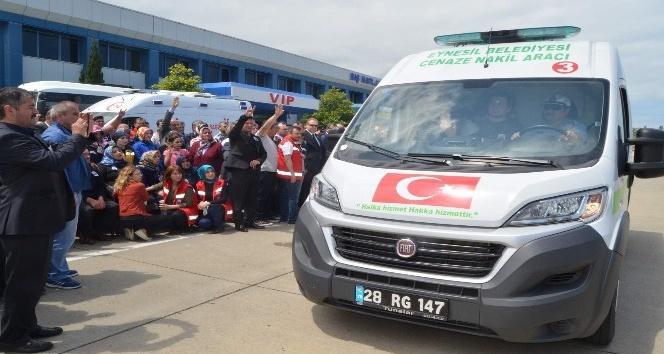 Giresunlu şehidin cenazesi Trabzon'da