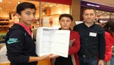 Öğrencilerden akıllı buzdolabı projesi