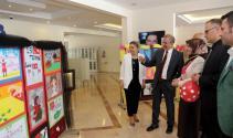 İhlas Koleji öğrencileri resim sergisi açtı
