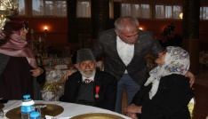 Şehit aileleri iftar sofrasında bir araya geldi