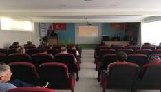 Okul kantini çalışanlarına hijyen eğitimi verildi