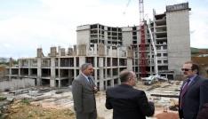 Yeni Bayburt Devlet Hastanesi inşaatı hızla devam ediyor