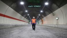 Ovit Tünelini 13 Haziranda Cumhurbaşkanı Erdoğan açacak