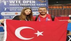 Vali Bilginden Avrupa Şampiyonuna tebrik telefonu