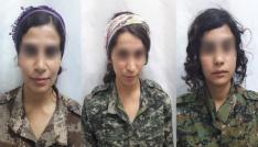 PKKnın çocukken kaçırdığı 3 kadın terörist teslim oldu