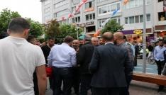 HDPliler ile karşıt görüşlü grup cadde ortasında birbirine girdi