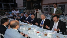 Bakan Demircan Amasyada vatandaşlarla iftar yaptı