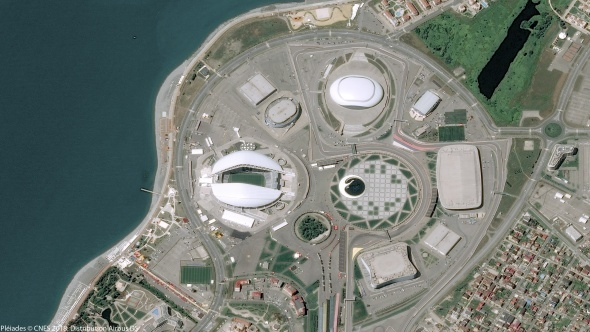 Dünya Kupası'na ev sahipliği yapacak stadyumlar uzaydan böyle görüntülendi