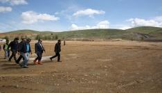 Vali Ali Hamza Pehlivan Kırklartepe Barajı inşaat çalışmalarını inceledi