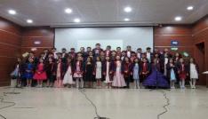 Yozgat Çözüm Kolejinde mezuniyet sevinci