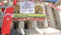 Şehit Özel Harekat Müdürünün adı okula verildi
