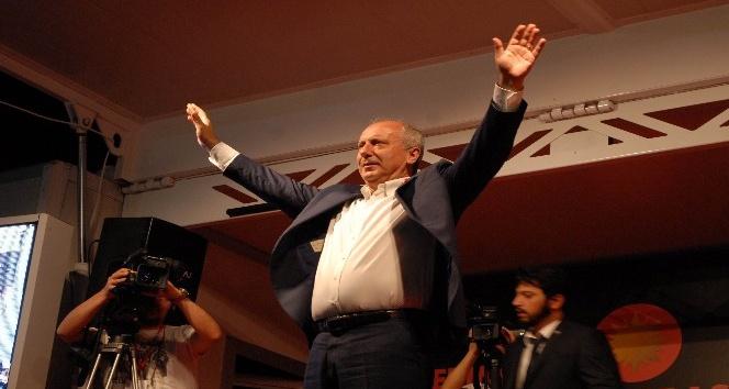 CHP Cumhurbaşkanı adayı Muharrem İnce: