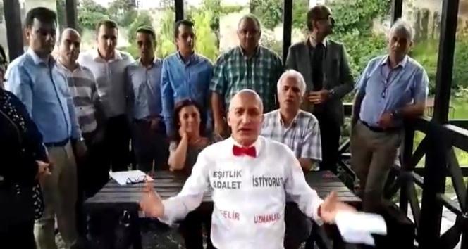 Trabzon'daki Gelir Uzmanları'ndan atma türkülü sitem