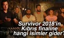 Survivor 2018'in Kıbrıs finaline hangi isimler gidecek? Çarpıcı sonuç...