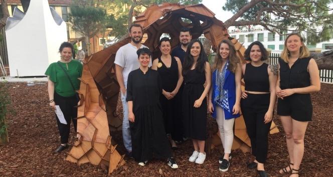 Bilgi Üniversitesi öğrencilerinin eseri Venedik Mimarlık Bianelinde