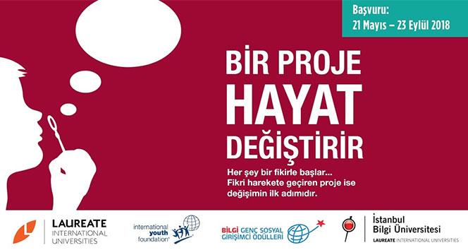 'BİLGİ Genç Sosyal Girişimci Ödülleri' başvuruları bekliyor