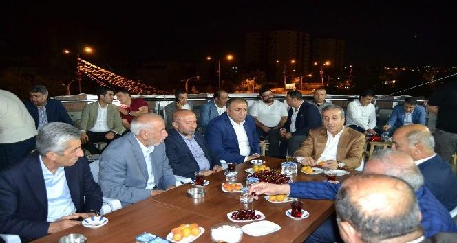 Eker, AK Parti adayı Atik'i ziyaret etti