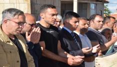 Milli futbolcu Mevlüt Erdinçin babası toprağa verildi