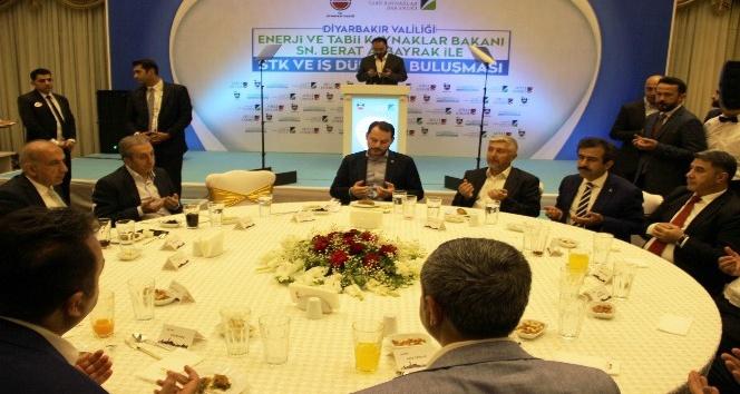 Enerji ve Tabii Kaynaklar Bakanı Berat Albayrak:
