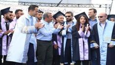 Tuncelide bin 500 öğrenciye mezuniyet töreni