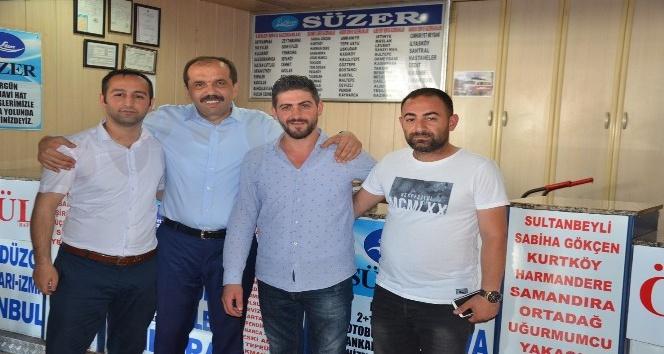 AK Parti Milletvekili Muhammet Balta, seçim gezilerini sürdürüyor