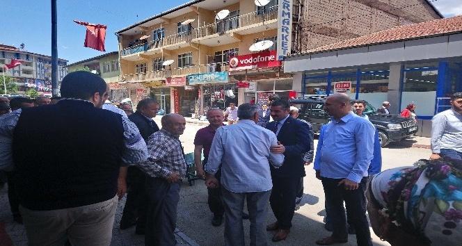 MHP'ye Hekimhan'da coşkulu karşılama