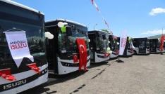 Bingölde modern halk otobüsleri hizmette