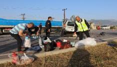 Amasyada feci kaza: Aynı aileden 3 ölü, 6 yaralı