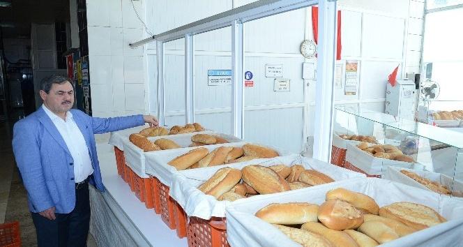Darende'de ekmeğe Ramazan indirimi